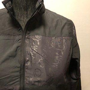Stussy Girls Craft Big 4 Print Jacket – Black
